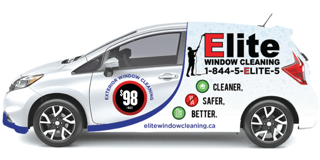 Residential Window Cleaning Vehicle - $98 Exterior Window Cleaning